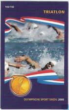 Plus 2008 Tradingcard 143-150 Triatlon