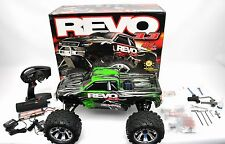 Traxxas Revo 3.3 4WD RTR Nitro Monster Truck TQi 2.4Ghz Radio with accessories