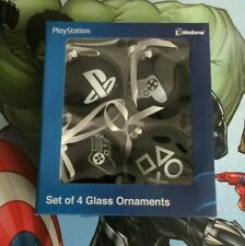 Brand New Playstation Christmas Ornaments Set of 4
