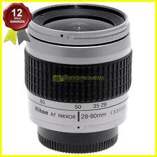 Obiettivo Nikon AF Nikkor 28-80mm f3,3-5,6 G silver per fotocamere reflex