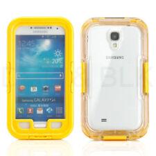 Étuis, housses et coques jaunes en plastique rigide Samsung Galaxy S4 pour téléphone mobile et assistant personnel (PDA)