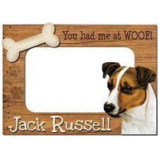 Jack Russell Terrier 3-D Wood Photo Frame