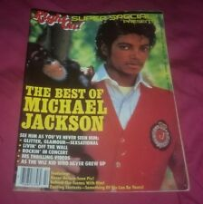Right On Magazine The Best of Michael Jackson FULL ISSUE complete 1984 thriller