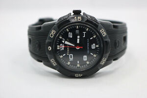 FREESTYLE Stainless Steel Black Silicone Band A126-11 Mens Analog Watch New Bat