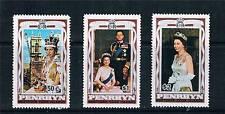 Penrhyn 1977 Silver Jubilee SG 100/02 MNH