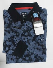 HAJO stay fresh Poloshirt Pullover Polohemd Knopfleiste XL 54 BW EL Mikro blau