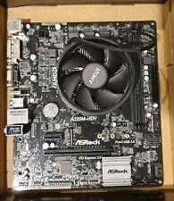 AMD Ryzen 3 2200G CPU & ASRock AM4 A320M-HDV Motherboard