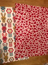 Cotton Fabric Back Felt Sheet A4 Heart Valentine Bunny Bow Maker Die Cut Glitter