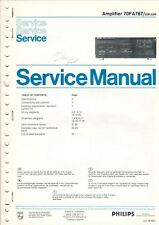 PHILIPS - 70FA787 00R/05R - Service Manual Schaltbild für Amplifier - B7551