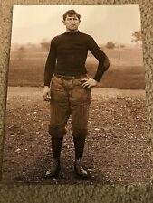 Vintage JIM THORPE Photo Print 1912 CARLISLE INDIANS FOOTBALL RARE