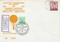 balloon post stamps cover  ref 18760