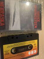 Cassette-cassette-Bruce springsteen-nebraska-rare