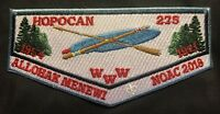 MERGED 1971 HOPOCAN OA LODGE 275 57  S1 A1 F1 WILLIAM PENN BSA 2018 NOAC FLAP