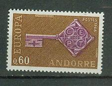 Andorra  Briefmarken 1968 Europa Mi.Nr.209 ** postfrisch