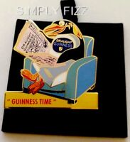 GUINNESS  MILLENNIUM COLLECTABLES PENGUIN BADGE BY TOYE & C0 LTD ED 897/950 BNIB