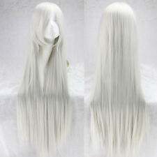 Women Fashion 100cm Long Synthetic Anime Cosplay Party Straight Hair Full Wig