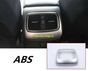 ABS Chrome Car Interior Rear Air Vent Outlet Trim For KLA Sorento 2015-2019