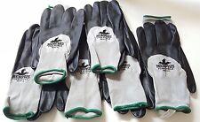 Safety Gloves. Foam Nitrile Palm, Nylon, 96781, XL, MCR Memphis, 6 Pairs