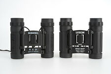 - 2X 8x21 Compact Binoculars, One Luxon, One Bushnell