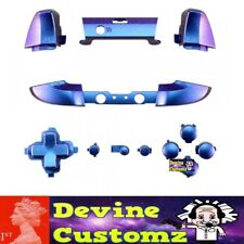 Xbox one S controller latest full button set kit custom Chameleon Purple Blue