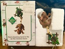 Charming Tails - Christmas Ornament - There'S Something In The Air - New n Box -