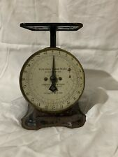 Antique Vintage Columbia Family Scale Landers, Frary & Clark 24 pounds works
