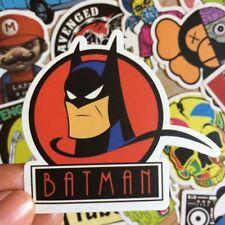 100 Stickers Cartoon Skateboard Batman Baker Street For Club Luggage Bomb Decal