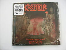 KREATOR - TERRIBLE CERTAINTY - 2CD NEW SEALED 2017