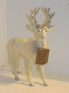 Reindeer Stag Standing Christmas Decoration Winter 34 9 26 CM