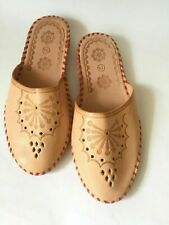100% Genuine leather slippers Leather shoes Leather sandals Flip fiops