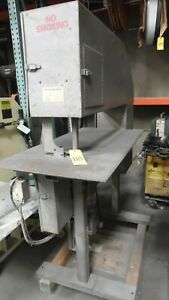 NATIONAL SAW WORKS VERTICAL BAND SAW
