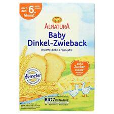 Alnatura Bio Dinkelzwieback 7 x 200 g Babynahrung Lebensmittel Bundle   MHD 4/21