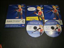 Smith Micro Anime Studio Pro 6 Software - Professional Animations, Motion Tracki