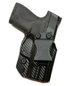 Black Scorpion Kydex IWB Gun Holster Smith Wesson M&P Shield 9/40 & Shield M2.0