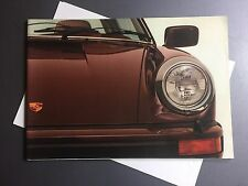1977 Porsche 911 SC & Turbo DELUXE Showroom Sales Brochure RARE!! Awesome XLNT