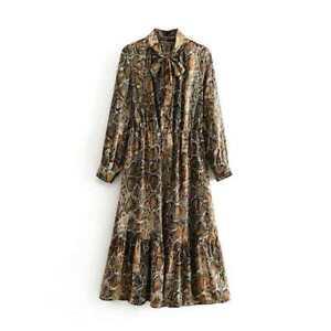 ROBE SERPENT SOIRéE LINGERIE COQUINE SEXY LONG GOWN DRESS 42 44
