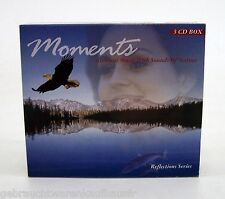 MOMENTS 3CD Box Ambient Musik With sounds Of Nature