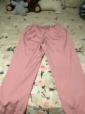 womens pants brand alfred dunner size14 color pink in good shape