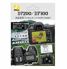 "Nikon NH-DFL7100SET 3.2"" Screen Protector Protective Film For D7200 D7100 New"