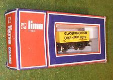 LIMA TRAINS RAILWAY OO GAUGE WAGON 5612 GLASSTOUGHTON COKE GRADED NUTS 7-PLANK