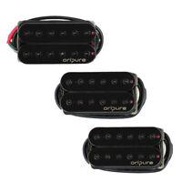 OriPure Guitar Humbucker Pickup Alnico 5 Neck/Bridge Pickup Hex Poles Black
