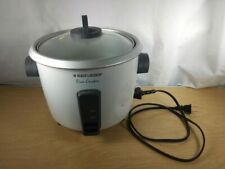 Black & Decker 7-Cup Rice Cooker With Spoon And Measuring Cup