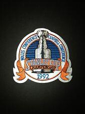 NHL 1992 Stanley Cup Finals Jersey Patch Pittsburgh Penguins v Chicago Blackhawk