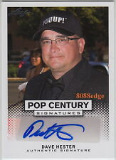 "2013 LEAF POP CENTURY AUTO: DAVE HESTER - AUTOGRAPH ""STORAGE WARS"" REALITY A&E"