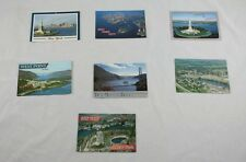Lot of 7 Vintage New York Postcards Sky Top West point Statue Of Liberty A1G48