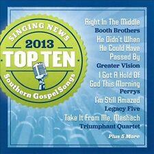 NEW Singing News Top 10 Southern Gospel Songs of 2013 (Audio CD)