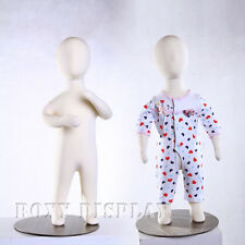 Full body Children jersey covered flexible children mannequin dress Form #Ch06M