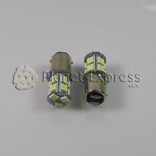 2 x Bombillas 13 LED SMD BA15D Coche Freno, DRL, Posicion Bombilla Blanco Xenon