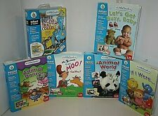 Leap Frog Little Touch Library Thomas the train Dr Seuss Animal World Lot of 6