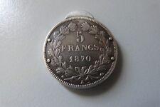 """Coupe cigare """"Eloi Pernet"""" 5 francs argent 1870"""